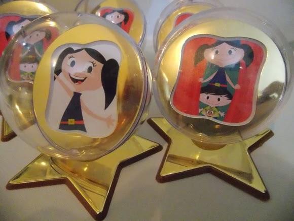 Show da Luna Tema Para Festa Infantil  lembrança retrato