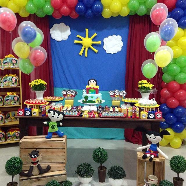 Show da Luna Tema Para Festa Infantil