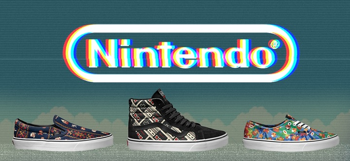 Tênis Coleção Nintendo