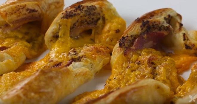 Tranças de Bacon e Queijo Cheddar – Como Fazer