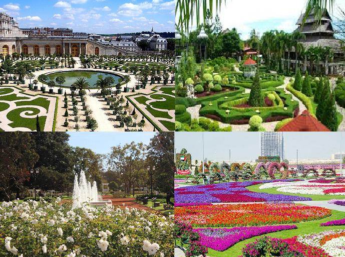 Belos Jardins do Mundo.