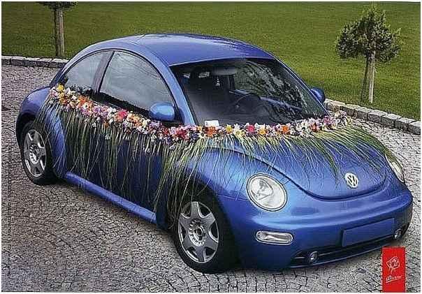 casamento-estilo-havaiano-carro
