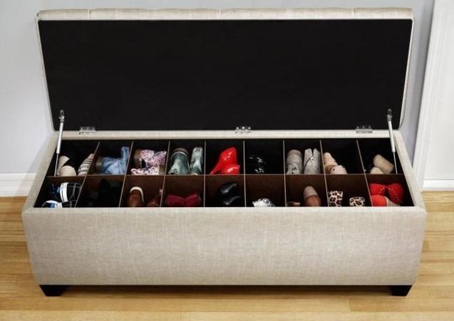 Organizar Sapatos - Dicas Criativas bau