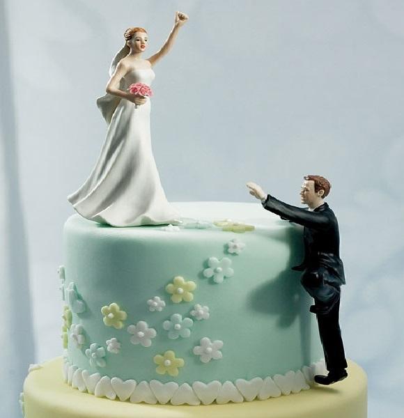Topos de Bolo Para Casamento - biscuis