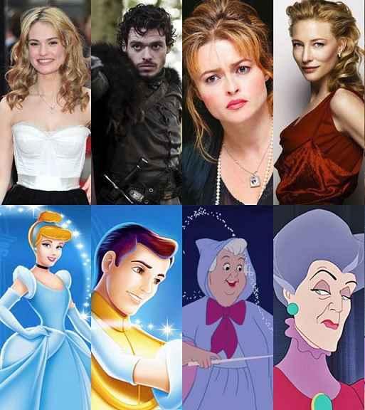 Desenhos Disney – Personagens Inspirados Em Famosos