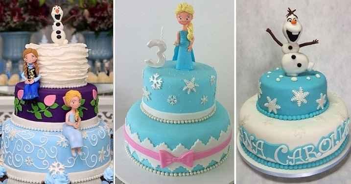 tema-frozen-para-festas-bolos