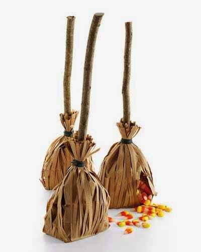 Vassouras de Doces Para Halloween – Como Fazer