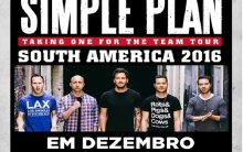 Simple Plan Show No Brasil – Datas e Ingressos