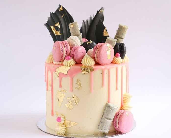 Drip Cake Decoração Para Bolos – Novidade
