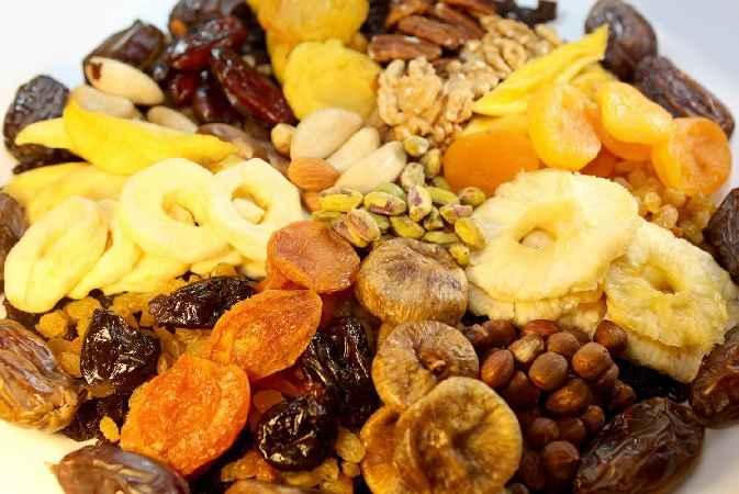 Frutas Desidratadas – Benefícios
