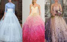 Vestido Para Noiva Colorido – Tendência 2017