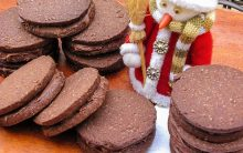 Biscoito Recheado Com Creme de Avelã – Receita Natalina
