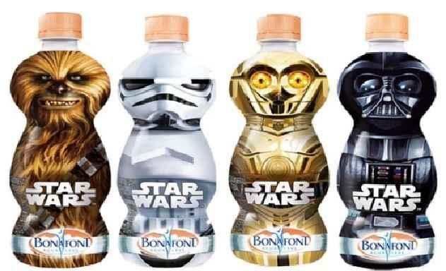 Garrafas Star Wars Bonafont – Lançamento