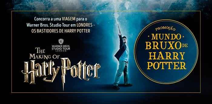 Mundo Bruxo Harry Potter Promoção – Como Participar