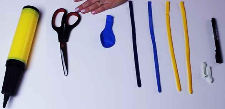 Balão de Festa Peixinha Dory – Material e Como Fazer