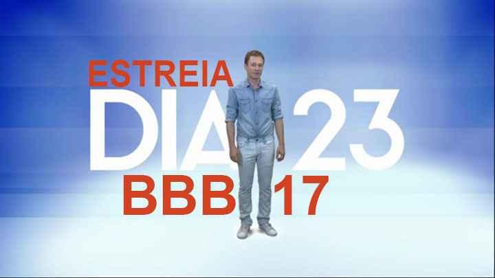 Big Brother Brasil 2017 – Estreia