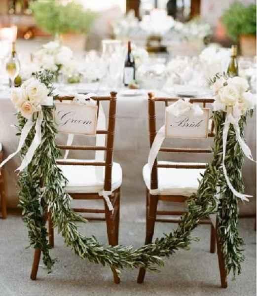 Cadeiras Para Noivos – Dicas Como Decorar