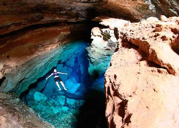 Caverna do Poço Azul – Como Visitar