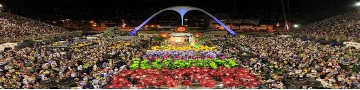 Desfile Escolas de Samba Carnaval do Rio 2017 - Datas e Horários
