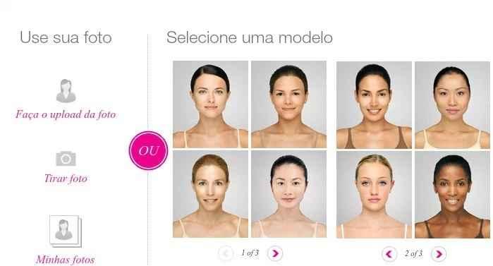 Escolher Maquiagem – Simulador Online