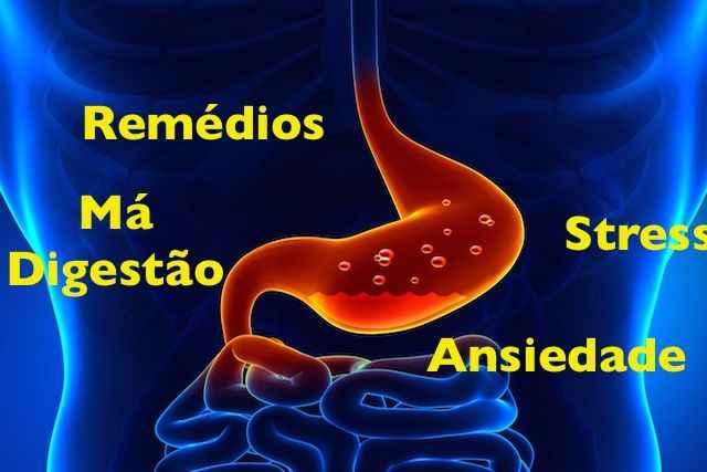 Gastrite Aliviar Sintomas - Dicas