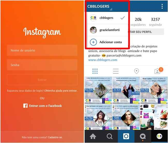 Instagram – Como Registrar