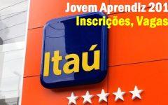 Jovem Aprendiz Itaú 2017 – Inscrições