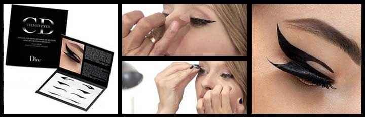 Maquiagem Adesiva - Como Usar
