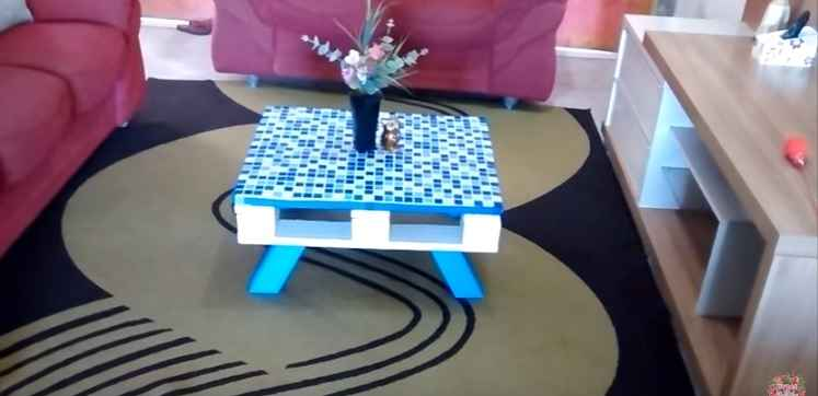 Mesa de Centro Com Paletes – Material e Modo Fazer