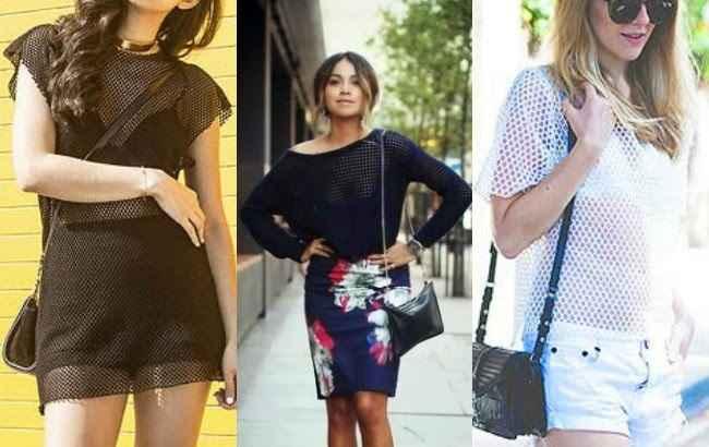 Blusa de Telinha - Fotos e Modelos