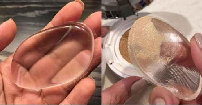 Esponja de Silicone Para Maquiagem – Novidade