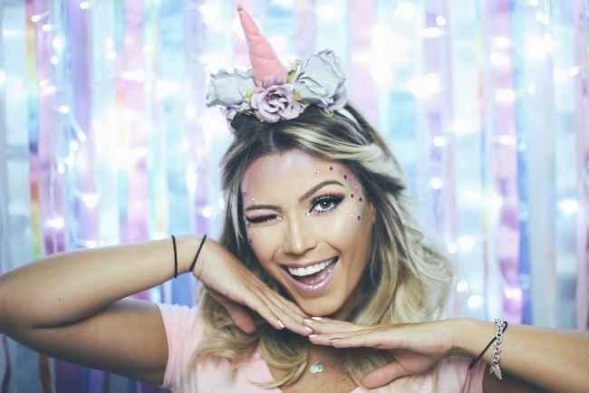 Maquiagem Unicórnio Para Carnaval – Como Fazer