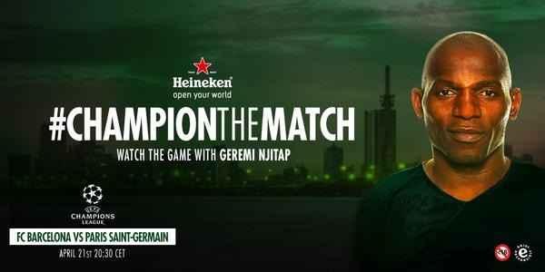 Promoção Heineken Champion The Match - Como Participar