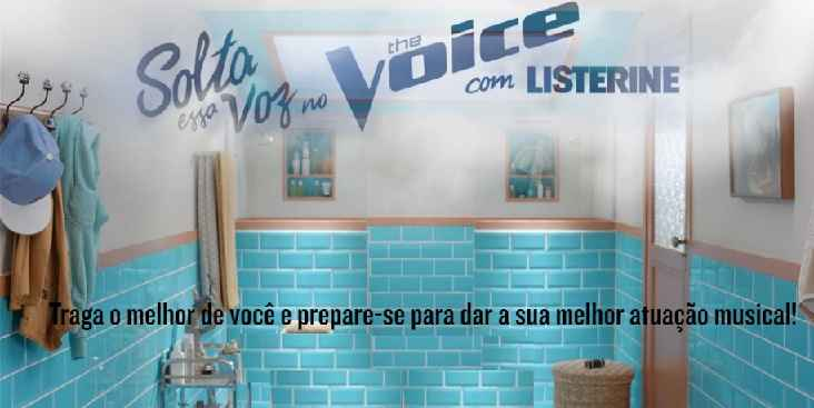 Promoção Listerine Solta Essa Voz no The Voice – Como Participar