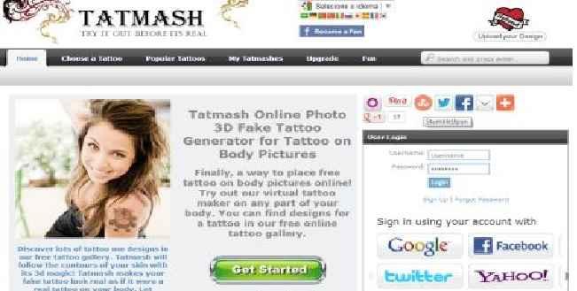 Simulador de Tatuagem On Line – Como Usar