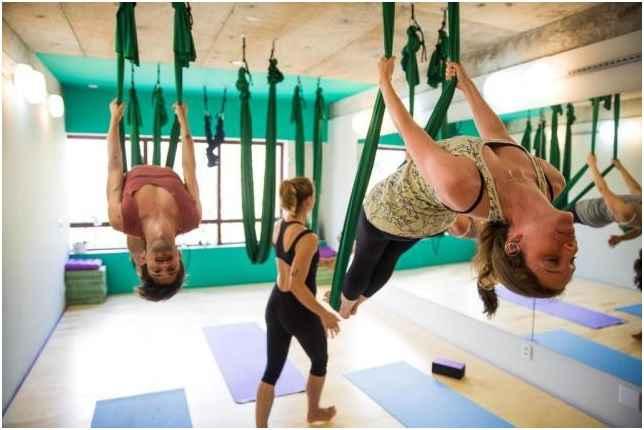 Yoga Aérea - Benefícios