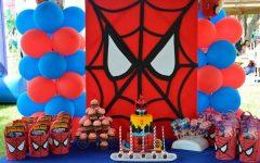 Festa Infantil Homem Aranha – Como Decorar