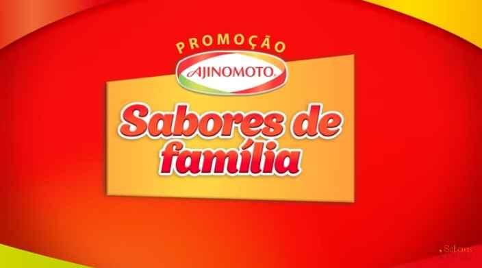 Promoção Ajinomoto Sabores De Família – Como Participar