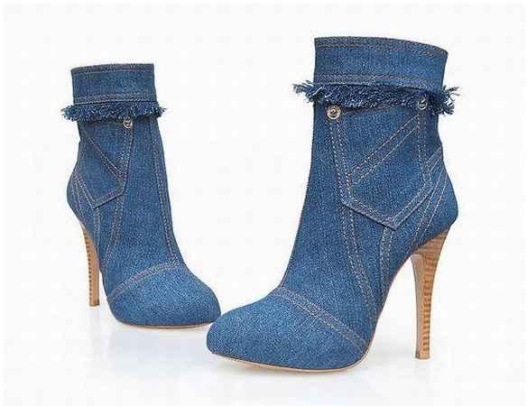 Sapato Jeans - Tendência 2017