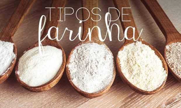Tipos de Farinhas – Como Utilizar