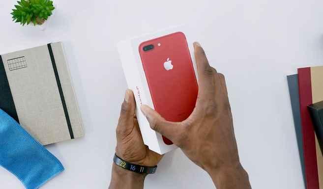 iPhone 7 Versão Vermelha – Edição Especial