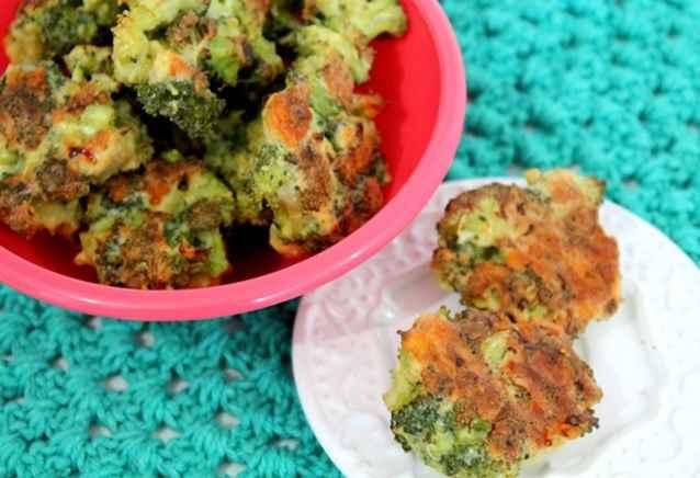 Bolinhos de Brócolis - Receita