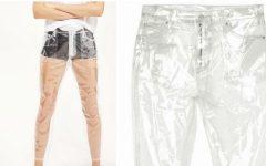 Calça Jeans de Plástico – Lançamento