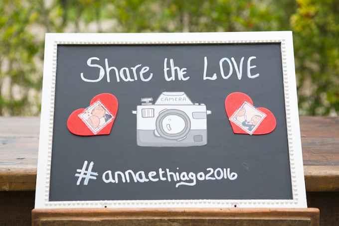 Hashtag Para o Dia do Casamento – Como Criar