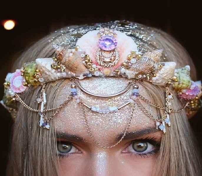 Coroa Sereia Flores e Conchas – Como Fazer