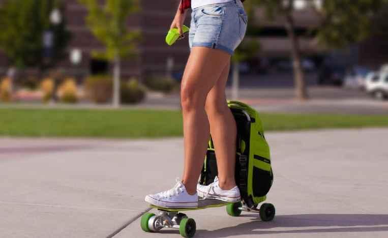 Skate Elétrico Vira Mochila – Novidade