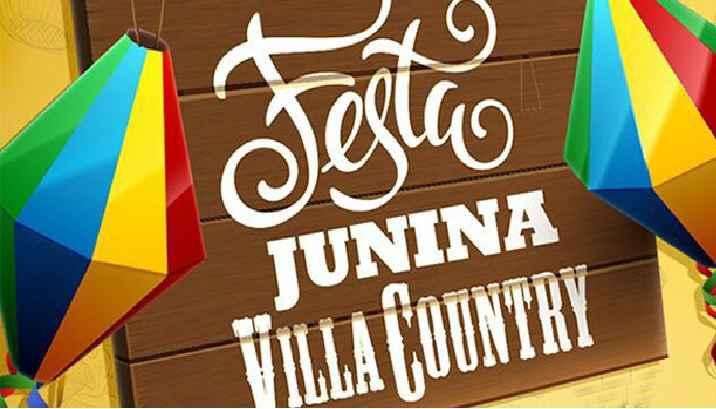 Festa Junina do Villa Country 2017 – Programação