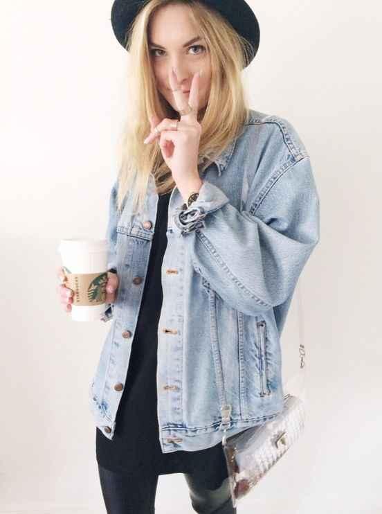 Maxi Jaqueta Jeans u2013 Como Usar