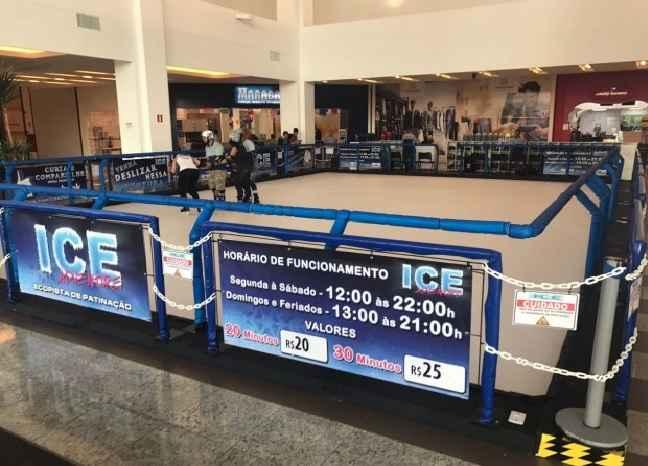 Pista de Patinação No Anhanguera Parque Shopping - Programação