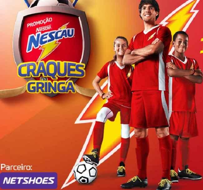 Promoção Craques na Gringa Nescau – Como Participar
